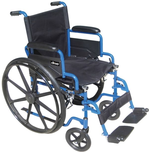 Blue Streak Wheelchair (Single Axle)
