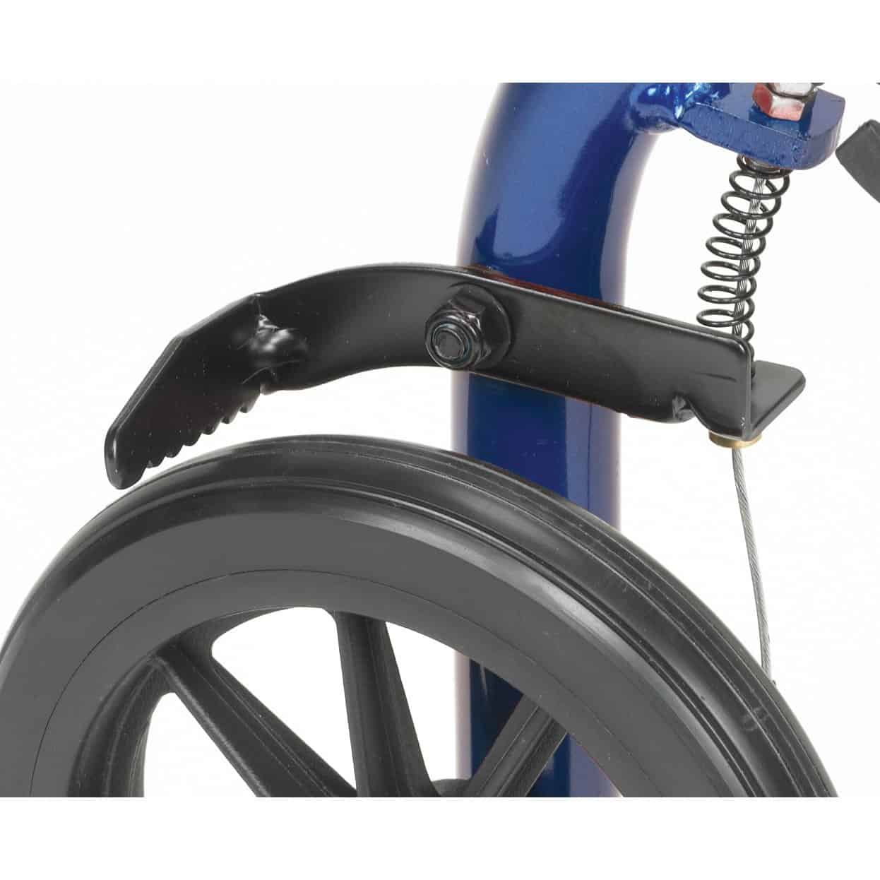 Aluminum Rollator 6 Quot Casters Fold Up And Removable Back
