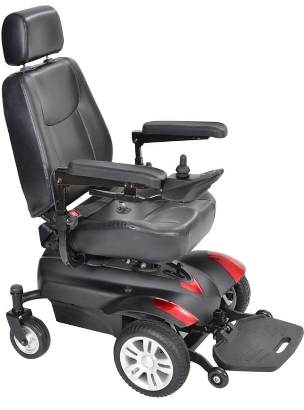 Titan (Standard Power Wheelchair Front-Wheel Drive)
