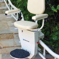 CSL500 Helix Curved Stairlift (Commercial Stairlift, Stair Lift)
