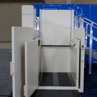 Vertical Platform Lift: TG400 Toe Guard CPL 750 lbs Capacity (Commercial Elevator, Home Elevator)