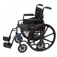 "ProBasics Transformer K0004 Wheelchair, 20"" x 16"" Seat with Footrests"
