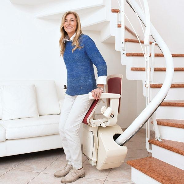 Freecurve Curved Stairlift