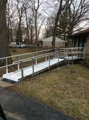 wheelchair access ramp